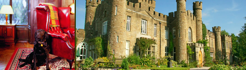 Family friendly castle accommodation Lake District