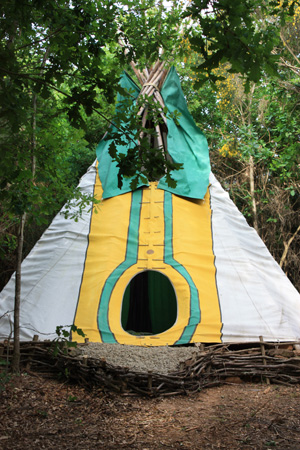 Tipi and Yurt Eco Camping and Glamping Holidays Spain - Mino Valley Retreats